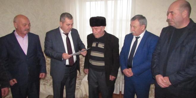 Ветеран Великой Отечественной войны Якуб Карасов отметил своё 90-летие