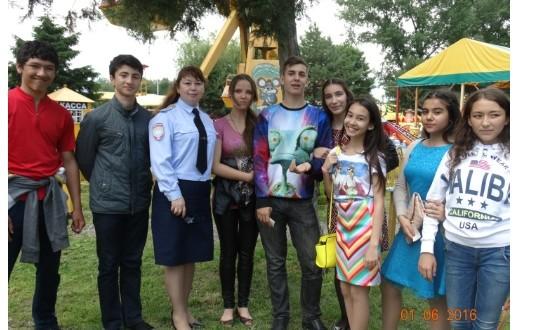 МО МВД Росси «Адыге-Хабльский»  провел мероприятия, посвященные Дню защиты детей
