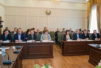 Заседание республиканской межведомственной комиссии по урегулированию задолженностей за потребленные топливно-энергетические ресурсы