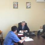 Энвер Керейтов провел прием граждан по личным вопросам