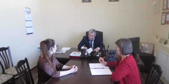 Глава Администрации Ногайского муниципального района Энвер Керейтов провел прием граждан по личным вопросам