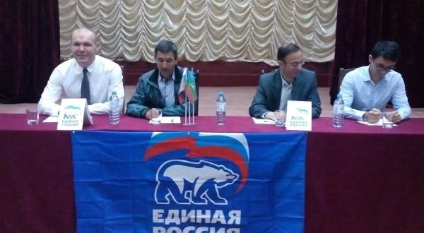 В пяти сельских поселениях определились кандидаты для выдвижения от партии «Единая Россия»