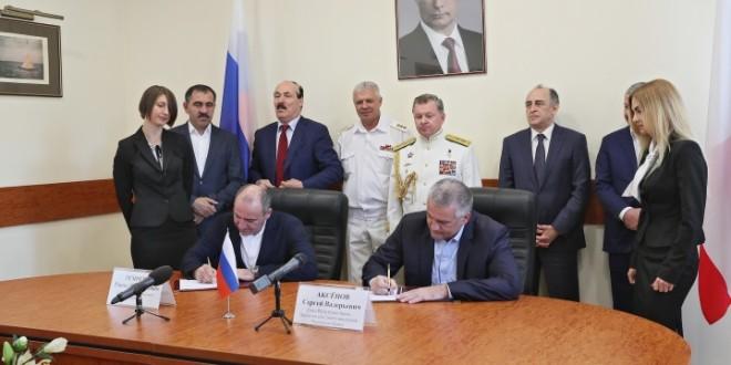 Рашид Темрезов принял участие в праздничных мероприятиях ко Дню ВМВ в Севастополе