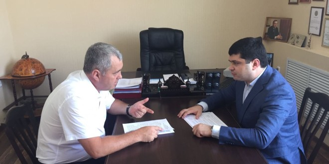 Энвер Керейтов  встретился с министром туризма, курортов и молодежной политики КЧР