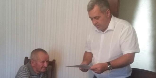 ТРУЖЕНИКУ ТЫЛА ИСПОЛНИЛОСЬ 90 ЛЕТ