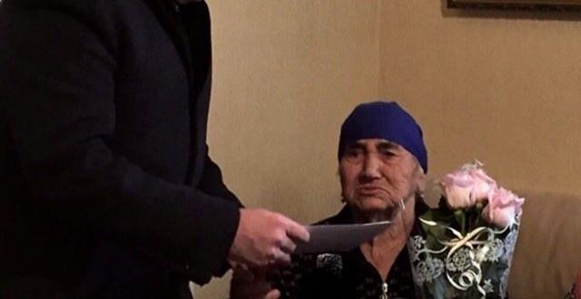 Сегодня своё 95-летие отметила труженица тыла из а .Икон-Халк Баисова Муслимат Крым-Гереевна.