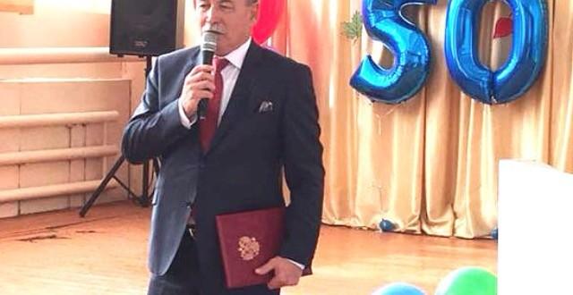 В МКОУ «СОШ а.Икон-Халк» прошло торжественное мероприятие, посвященное 50-летию со дня основания школы.