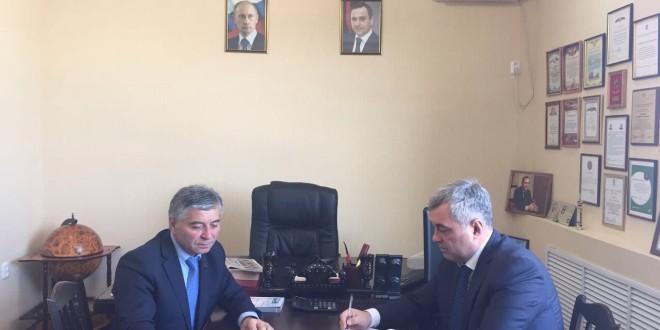 Сегодня в Ногайском районе прошла рабочая встреча председателя  Комитета Народного Собрания(Парламента) Карачаево-Черкесской Республики