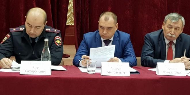 Состоялось очередное заседание антитеррористической комиссии