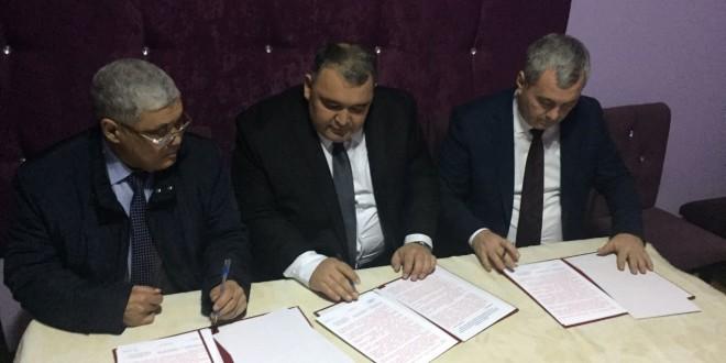 Подписан протокол о трехстороннем сотрудничестве