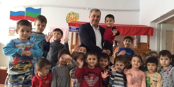 Плановое посещение детских садов района