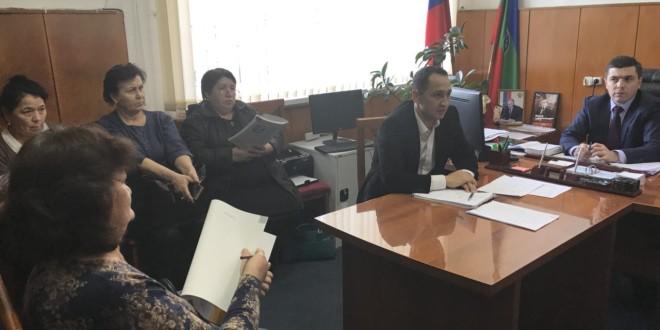 Совещание с председателями участковых избирательных комиссий