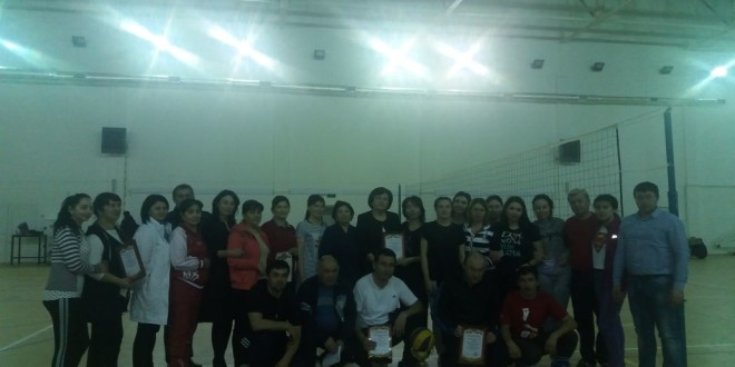 В честь Международного женского дня – турнир по волейболу