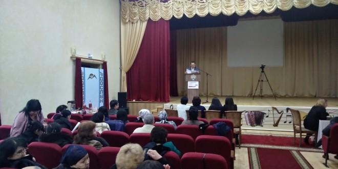 В Ногайском районе прошел обучающий цикл для членов участковых избирательных комиссий
