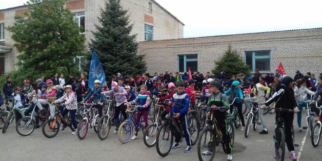 В Ногайском районе прошел велопробег