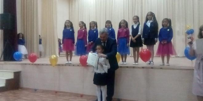 Отчетный концерт детской музыкальной школы аула Эркен-Юрт