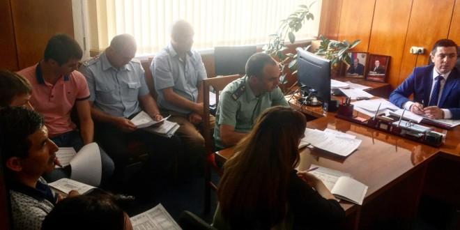 Заместитель Главы Администрации Ногайского муниципального района провел совещание