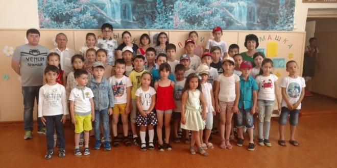 Награждение победителей шахматного турнира посвященного Дню России