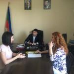Министр туризма, курортов и молодежной политики Карачаево-Черкесской Республики А.Н. Эркенов провел выездной прием граждан в Ногайском муниципальном районе