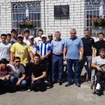 Две футбольные команды из аула Икон-Хал поехали на финал Ногайской футбольной лиги