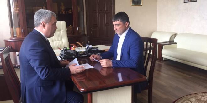 Глава Администрации Ногайского района встретился с Министром сельского хозяйства Карачаево-Черкесской Республики