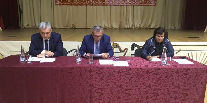В Ногайском районе прошла 50-я сессия Совета Ногайского муниципального района