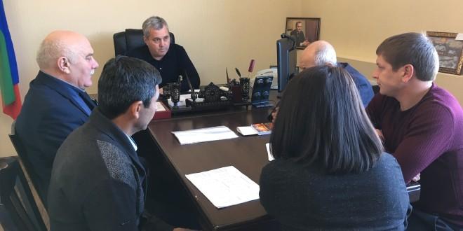 Глава Администрации Ногайского района провел рабочее совещание с главами поселений