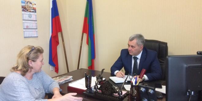 Глава Администрации Ногайского района провел очередной прием граждан
