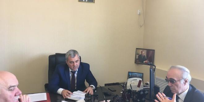 Энвер Керейтов провел совещание по вопросу водоснабжения район