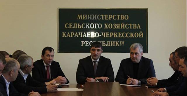 Энвер Керейтов принял участие в совещании Минсельхоза КЧР