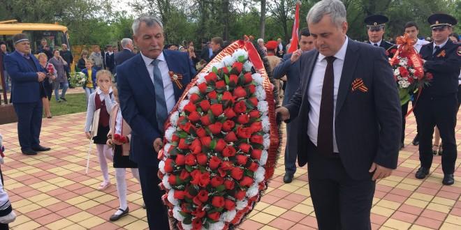В Ногайском районе прошли мероприятия посвященные Дню Победы.