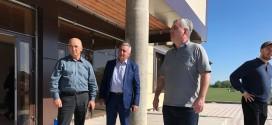 Министр культуры КЧР проинспектировал строительство ДК в а. Адиль-Халк.