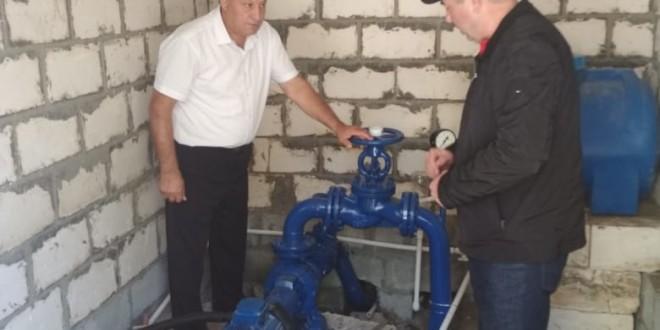 Вопрос водоснабжения а. Эркен-Юрт решится в ближайшее время.