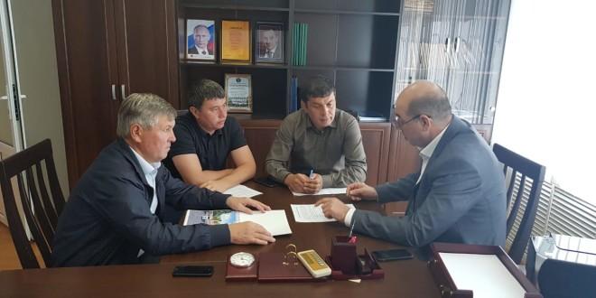 Мурат Хапиштов провел рабочее совещание в а. Икон-Халк