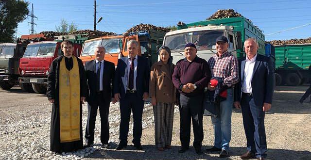 Глава Администрации Ногайского района принял участие в открытии сезона на Эркен-Шахарском сахарном заводе