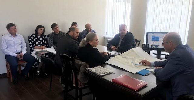 Cогласования границ сельских поселений и населенных пунктов обсудили в администрации района