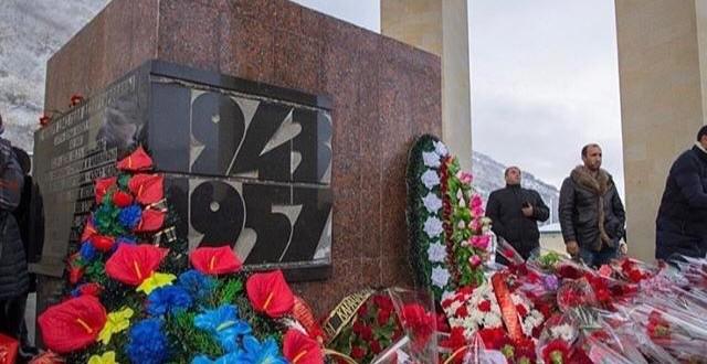 Траурный митинг в Карачаевске