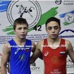 Амаль Джандубаев стал серебряным призером  III Международного турнира по вольной борьбе.