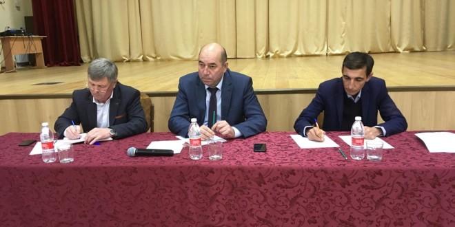 19 декабря в Ногайском районе прошло заседание антитеррористической комиссии
