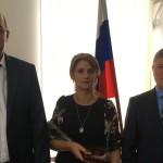 """Почетный знак КЧР """"Материнская слава"""" получили многодетные матеря Ногайского района"""
