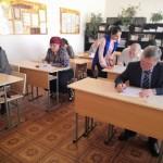 В Ногайском районе состоялась акция «ЕГЭ для родителей»