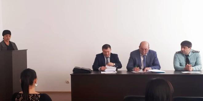 Заседание межведомственной комиссии по вопросам мобилизации доходов в бюджет Ногайского муниципального района