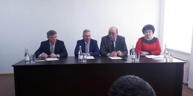 Ногайский муниципальный район посетил Министр культуры КЧР Р.Х. Бароков