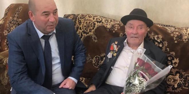 День рождения  ветерана Великой Отечественной войны Карасова Якуба Абдуловича