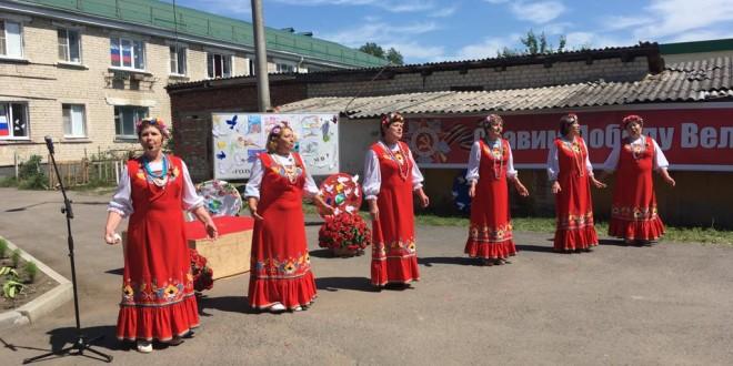 Праздничный концерт ко дню Великой Победы.