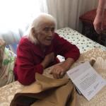 90-летний юбилей отметила жительница п. Эркен-Шахар Лидия Хаджибекировна Экба.