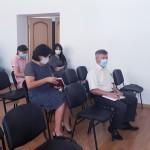 Глава Администрации Ногайского муниципального района Мурат Хапиштов провел совещание с главами сельских поселений, директорами образовательных учреждений района.