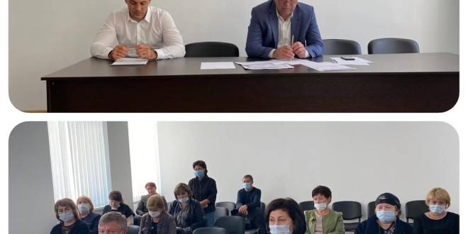 Глава администрации Ногайского муниципального района Мурат Хапиштов провел совещание с руководителями общеобразовательных и дошкольных учреждений района.