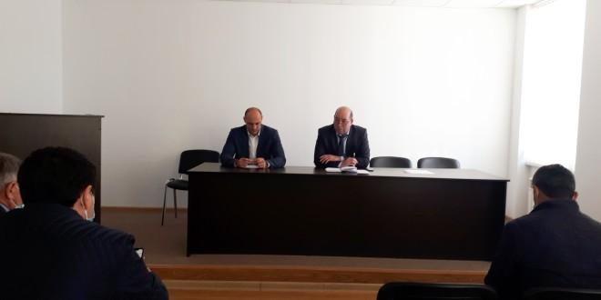 Заседание рабочей группы по противодействию распространения коронавирусной инфекции на территории Ногайского муниципального района.