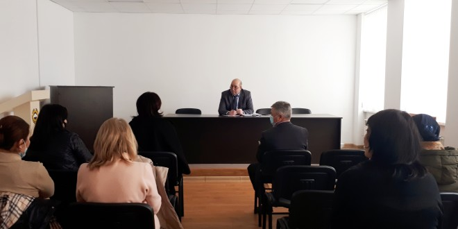 М.А. Хапиштов провел рабочее совещание с  руководителями  дошкольных образовательных организаций района.